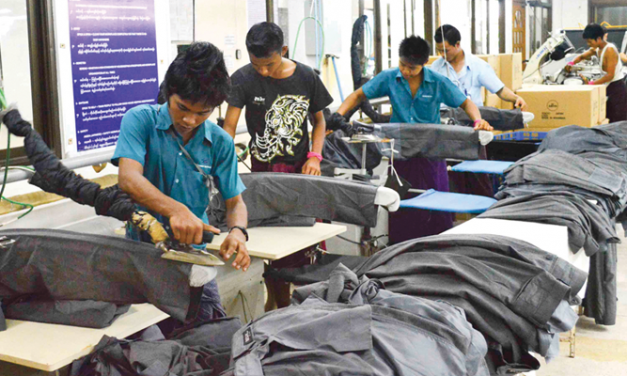 Myanmar CMP garment exports to touch $2.2 bn in 2017