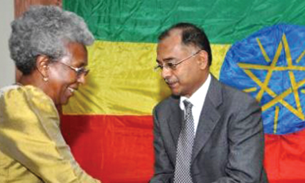 Ethiopian industry Minister keen to promote trade