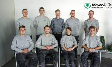 New apprentices ready to go at Mayer & Cie.