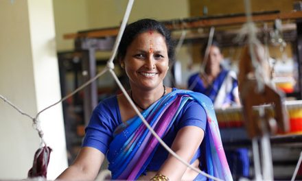 Fashion brand aims to empower over 6,000 women weavers