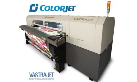 COLORJET TO SHOW ITS BEST-SELLING DIGITAL TEXTILE PRINTER VASTRAJET AT ITMACH 2017