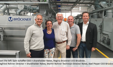 Brückner helps Rotex get back on its feet
