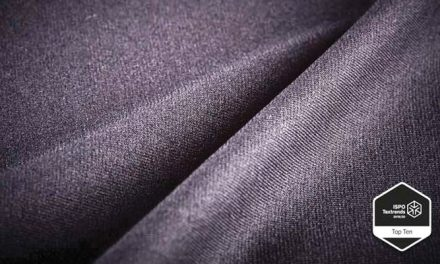 Sensil warp knit fabric scoops ISPO prize