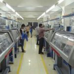 Automation in the apparel industry reducing labours