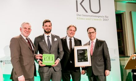 Federal Environment Ministry and BDI gives IKU award to Mayer & Cie.