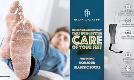 Protect your feet with Bonjour Diabetic Socks