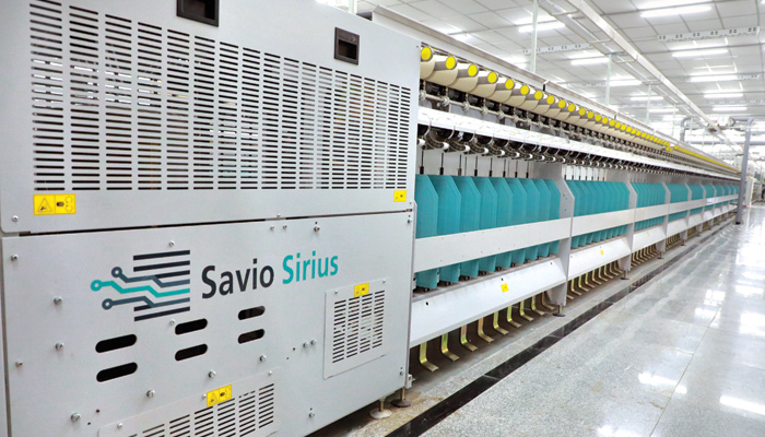High-end Twisting technology from SAVIO