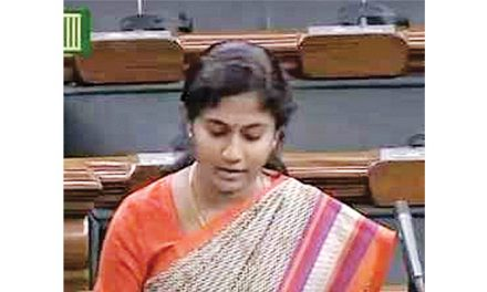 Tirupur MP raises knitwear industry issues with FM
