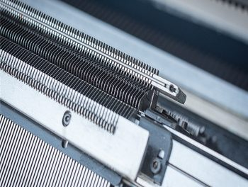 Rise in shipment of electronic flat knitting machines in 2017
