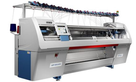 Stoll launches new extra-wide bed flat knitting machine