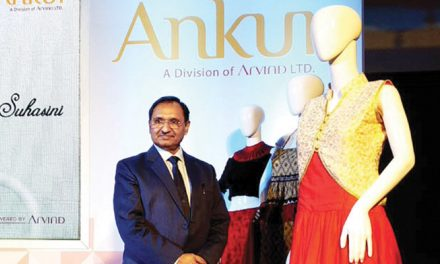 Ankur Textiles' latest collection of multi-fibre fabrics for womenswear