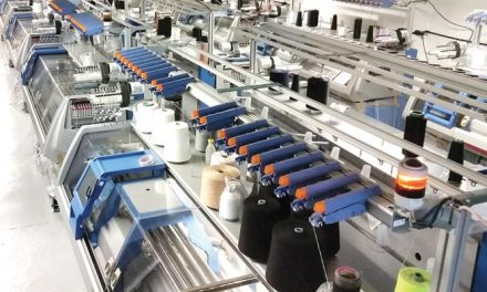 Electronic flat knitting machines register record sales