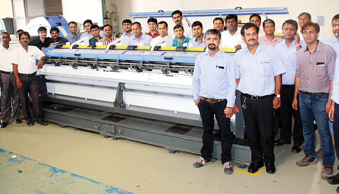 Truetzschler Training Academy starts in India