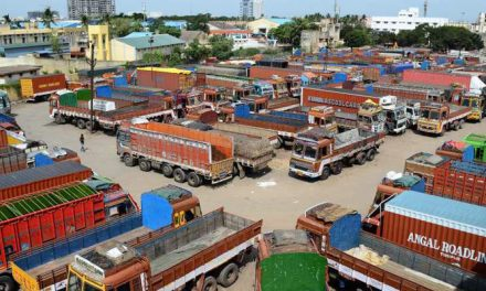 Delay in settling the lorry strike issue derails the exports