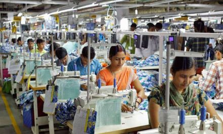 India's textile, apparel exports rise by 18 per cent