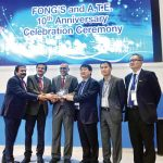 FONG'S and A.T.E celebrate decade of partnership during ITMA ASIA