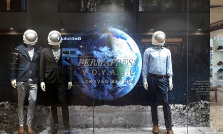 Louis Philippe's launches windows based on travel themes of latest range
