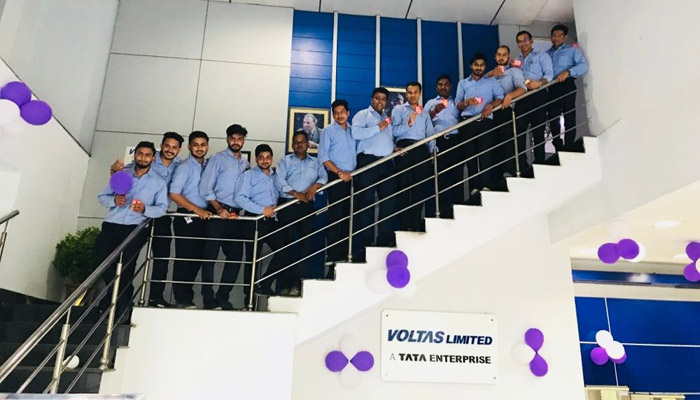 Voltas and Shima Seiki join hands