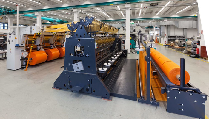 Karl Mayer makes system for efficient processing of tape yarns