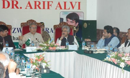 Pak President says textile sector is economy's lynchpin