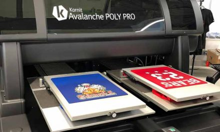 Kornit Atlas and Kornit Avalanche Poly Pro shown first time publicly in Asia Pacific