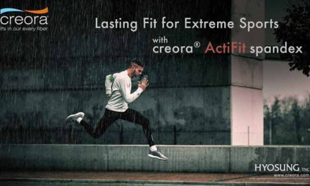 High-performance creora ActiFit spandex by Hyosung