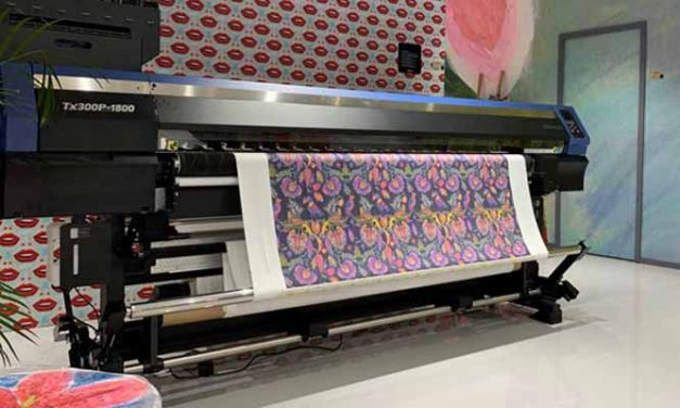 Mimaki Hybrid Printer demonstration emphasises accessibility of textile printing