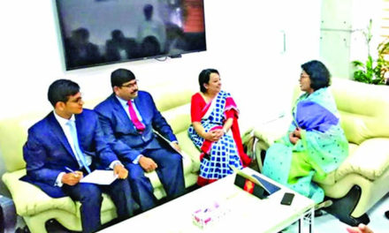 Indian High Commissioner meets BGMEA President