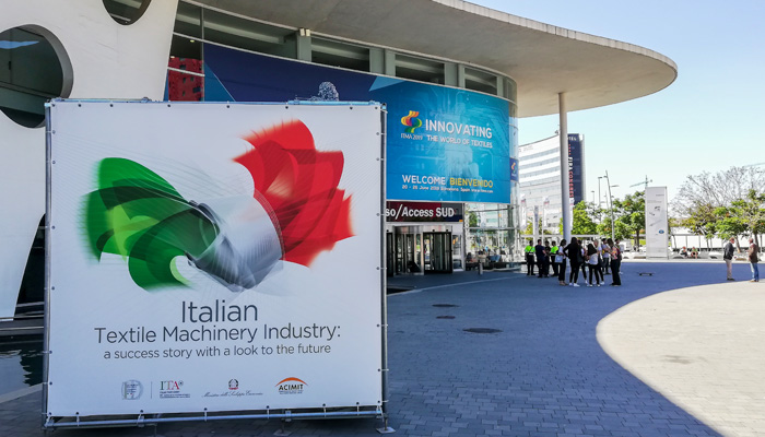 Resounding success for Italian Textile Machinery manufacturers