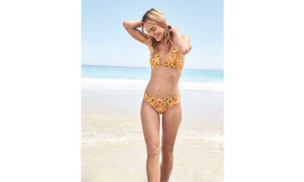 Sustainable swimwear with Hyosung's recycled nylon by FatFace