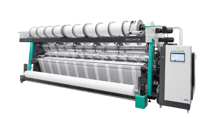 Karl Mayer producing next generation of tricot fabrics – with ON drive