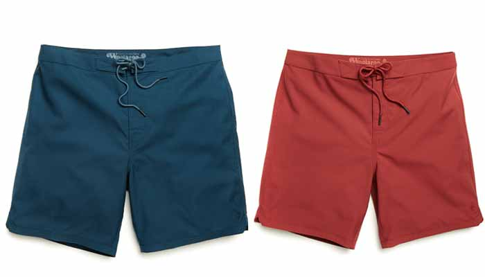 World's 1st 100 per cent Merino wool boardshort, certified by The Woolmark Company