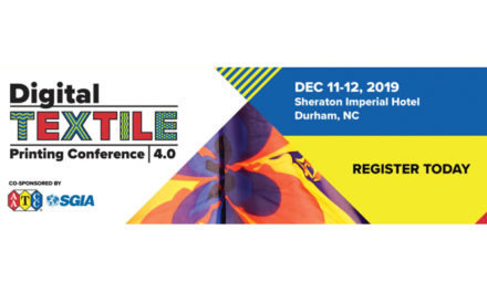 AATCC and SGIA announce presentations for Digital Textile Printing Conference 4.0