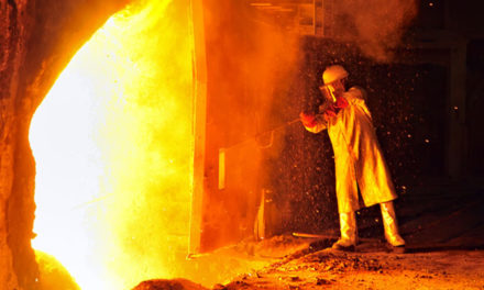 Flame-resistant fabric made out of Coats thread