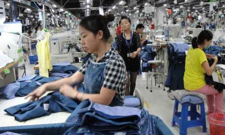General Manufacturing PMI of China increases slightly