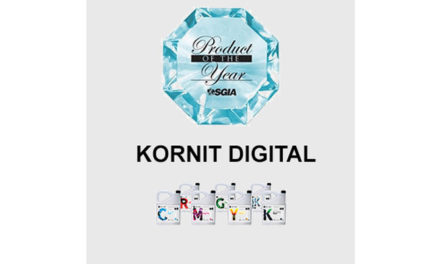 Kornit Robusto Inks grabs SGIA Product of The Year Award
