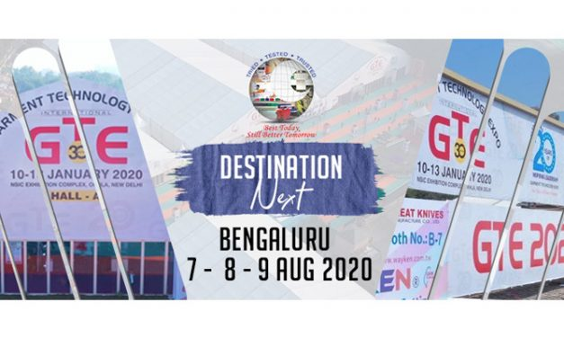 GTE Bengaluru 2020 – South India's largest garment machinery show announced
